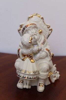 "Lenox China Jewels ""santa, Please"" 7Th In Series 1999-2000 New With Label"