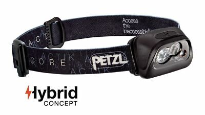 Petzl ACTIK Core - Rechargeable, compact. multi-beam headlamp with red lighting