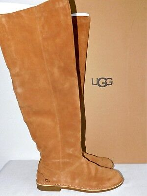 f131d952ae7 NEW 2019 UGG Women Loma Over The Knee Boot Suede Black 1095394 ...