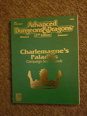 AD&D  / Advanced Dungeons&Dragons - Charlemagne´s Paladins - TSR 9323 - D&D