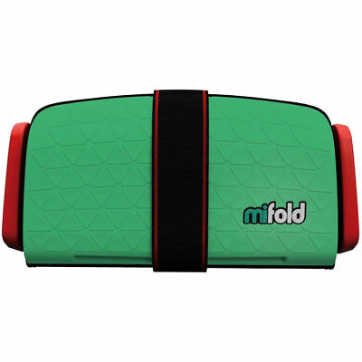 mifold Grab-and-Go Car Booster Seat, Lime Green #1053