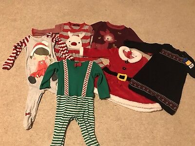 Girls Christmas Bundle Aged 12-18 Months
