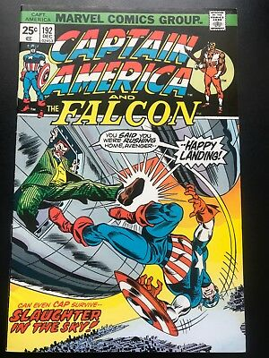 Captain America  #192  Vol 1 Marvel Comics  Cents Issue VFN+