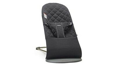 BABYBJORN Bouncer Bliss Cotton - Black - Free Shipping