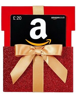 Christmas Amazon gift card voucher