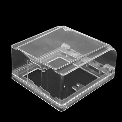 1Pcs Clear Socket Switch Waterproof Cover Box Heighten For Socket Panel Mounting