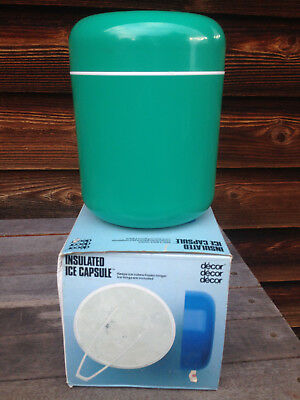 Decor Insulated Ice Capsule BNIB never used Retro vintage