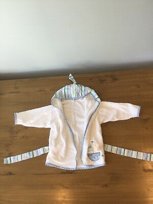 White Dressing Gown 6-12 Months Never Been Worn