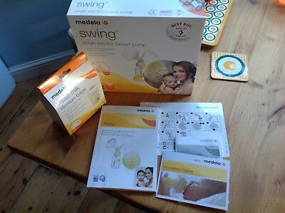 Medela Swing single electric breast pump - UNUSED