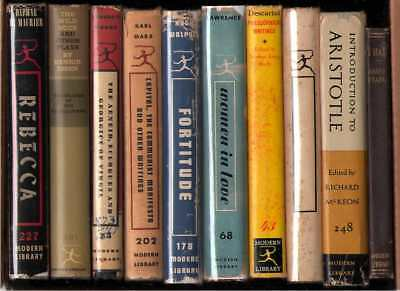 Modern Library Lot of 10 Books - Lot G