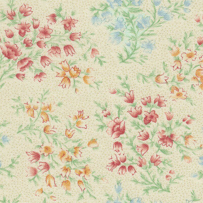 Longaberger Handle Gripper in Vintage Blossoms Fabric