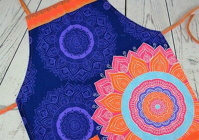 Mandala Apron Artist Apron Chef Apron Cooking Apron With a Pocket One Size
