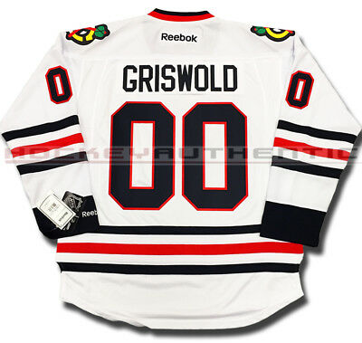 CLARK GRISWOLD CHRISTMAS Vacation Chicago Blackhawks CCM Vintage ... 4cb9aa4ae
