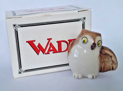 WADE Animal SPECS THE OWL Pocket Pals, Series One, October 1999, Animals *BOXED
