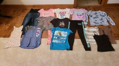 Lot Of Girls/tween/jr Tops-Camis-Jeans-Pjs-Justice-Nike-Mudd-Aeropostale-Size 16