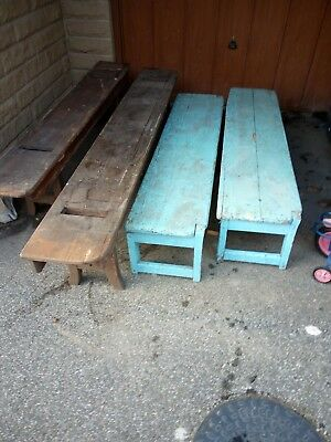 Old school benches