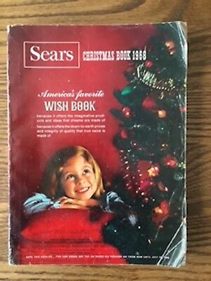 1968 Sears Christmas catalog Wish Book - RARE