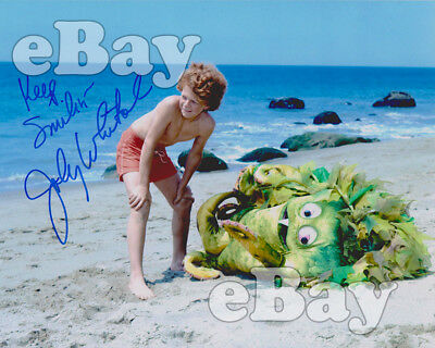 Rare! SIGMUND AND THE SEA MONSTERS 8 X10 Color TV Photo SID & MARTY KROFFT