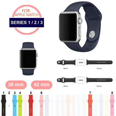 Correa silicona Apple Watch para iWatch series 1/2/3/4 (38-40 mm / 42-44 mm)
