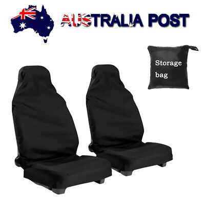 2 PCs Car SUV Front Seat Cover Waterproof Van Auto Vehicle Protector Universal