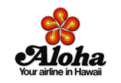 """Aloha Airlines Logo 3.25""""x2.25"""" Collectibles Fridge Magnet (LM14001)"""