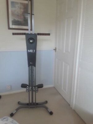 Maxi Climber Vertical Climber Home Adjustable Exercise Fitness Workout Machine -