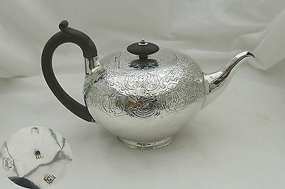"""Rare George I Hm Sterling Silver """"bullet"""" Teapot 1720"""