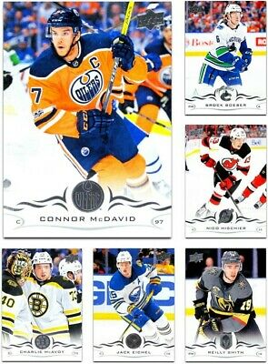 2018-19 Upper Deck SERIES 1 *** PICK YOUR CARD **** From The BASE SET