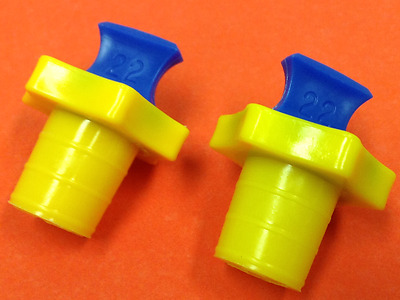 Kimble - Plastic Size #22 - Stoppers - Lot of Two (2) - UNUSED