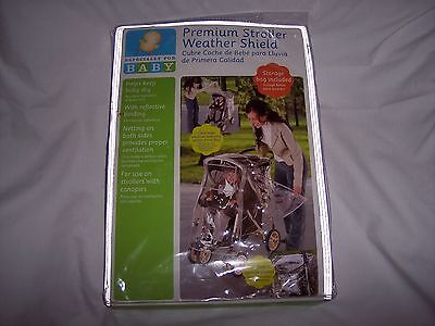 Babies R Us Premium Stroller Weather Shield Rain Cover w/ storage bag ~ NEW