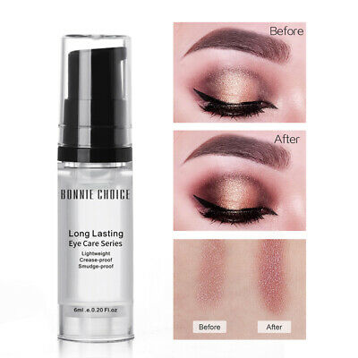 BONNIE CHOICE 6ml Eye Shadow Primer Long-lasting Make Up Base Natural Cream Tool