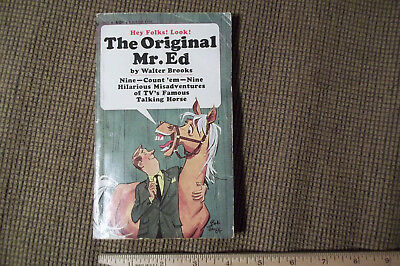 The Original Mr. Ed (Talking Horse) Brooks 1st Ed. 1963 Bantam in 1st Book Form