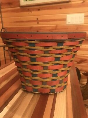 Longaberger 2016 Fall Multicolor Basket