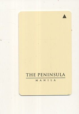 THE PENINSULA---Manila,Philippines----Room key-K-30
