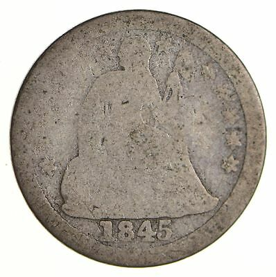 Historic 1845-O Seated Liberty Dime *617