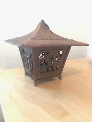 Japanese Iron Lantern Pre-Owned Great Condition Classic