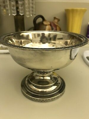 Coin Silver Waste Bowl By C Bard & Son