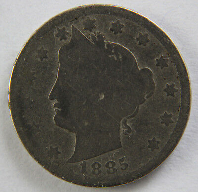 Key date 1885 Liberty Nickel, part of complete set!