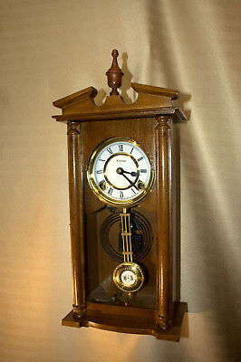 Petite Heritage Time/Strike Wall Clock, Cleaned, Oiled & Tested