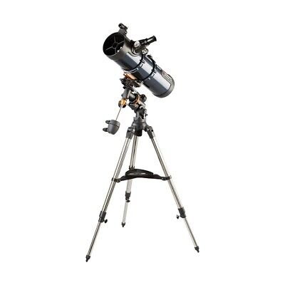 CELESTRON 31042 AstroMaster 114EQ 8.77 Newtonian Telescope (incl carrying bag)