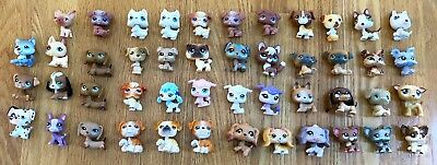 Littlest Pet Shop Collection of Dogs Huge Lot of 47 Pets LPS