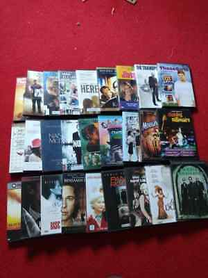 Lots of 27 movie DVDs, all in very good condition. Good for re-sale