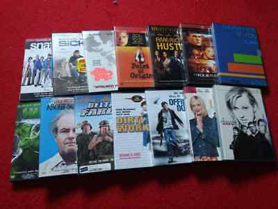 Lots of 14 movie DVDs, all in very good condition. Good for re-sale