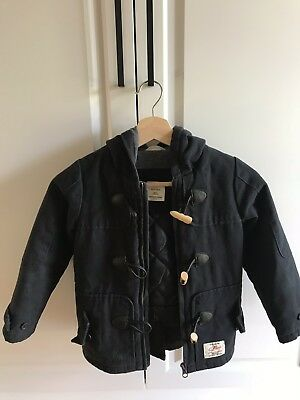 Kids Country Road Duffle Coat Navy Size 4