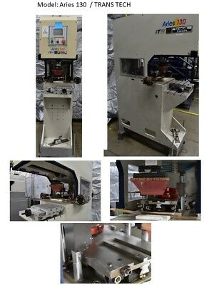 Tampo Printing /Aries 130 pad printing Press / Trans Tech /