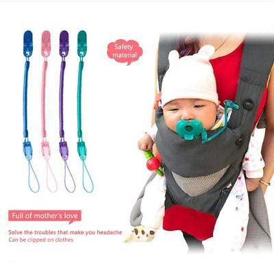 Soother Silicone Cute For Baby Chew Pacifier Clip Teething Anti Chain Clip