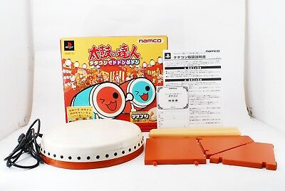 PlayStation2 PS2 Taiko no Tatsujin Tatacon Drum Sticks JP  #351555