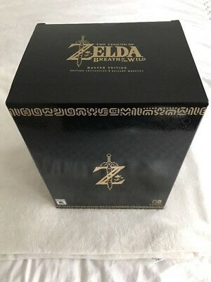 Nintendo The Legend Of Zelda Breath Of The Wild Master Edition Brand New Sealed