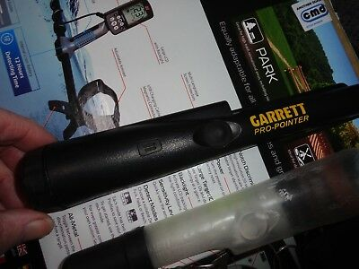 Garrett Pro Pin Pointer,complete With Rubber Cover,lanyard And 9Volt Battery.