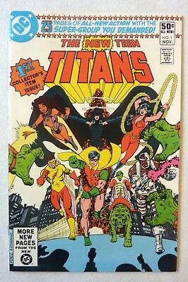 New Teen Titans #1 DC 1980 VFN/NM- Condition Key Issue
